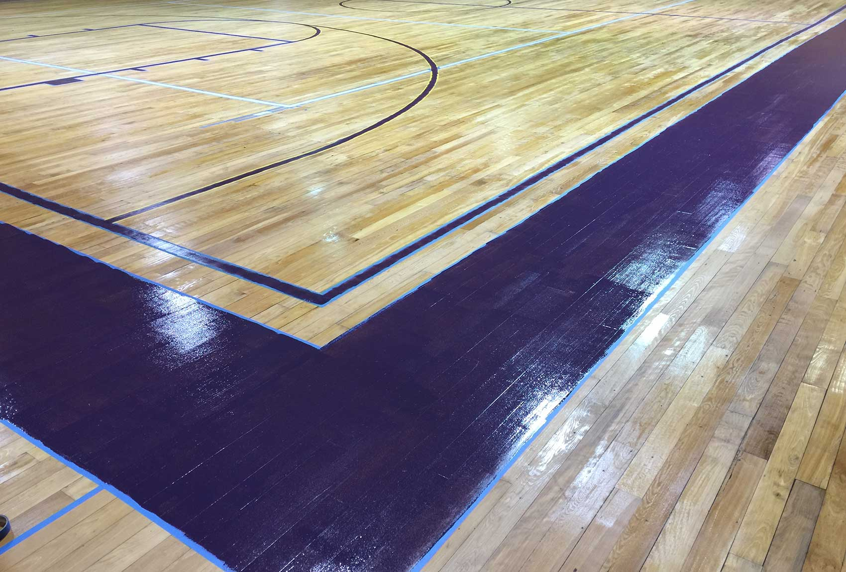 Basketball Court Projects Palmetto Floor Sanding